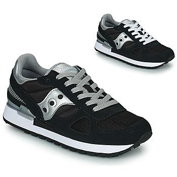 Παπούτσια Γυναίκα Χαμηλά Sneakers Saucony SHADOW ORIGINAL Black / Silver