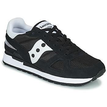 Παπούτσια Άνδρας Χαμηλά Sneakers Saucony SHADOW ORIGINAL Black / Άσπρο