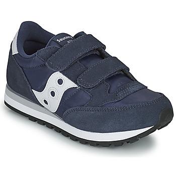 Xαμηλά Sneakers Saucony JAZZ DOUBLE HL ΣΤΕΛΕΧΟΣ: Δέρμα / ύφασμα & ΕΠΕΝΔΥΣΗ: & ΕΣ. ΣΟΛΑ: & ΕΞ. ΣΟΛΑ: Καουτσούκ