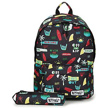Τσάντες Αγόρι Σακίδια πλάτης Rip Curl DOME + PC 18L BTS Black / Multicolour