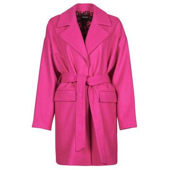Υφασμάτινα Γυναίκα Παλτό Desigual RUBI Ροζ
