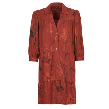 Υφασμάτινα Γυναίκα Κοντά Φορέματα Desigual SEVILLA Red