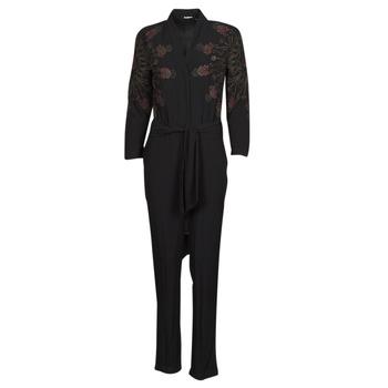Υφασμάτινα Γυναίκα Ολόσωμες φόρμες / σαλοπέτες Desigual NIAGARA Black