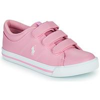 Παπούτσια Κορίτσι Χαμηλά Sneakers Polo Ralph Lauren ELMWOOD EZ Ροζ