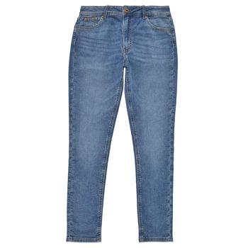 Υφασμάτινα Κορίτσι Skinny jeans Pepe jeans PIXLETTE HIGH Μπλέ