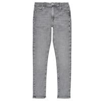 Υφασμάτινα Κορίτσι Skinny jeans Pepe jeans PIXLETTE HIGH Grey