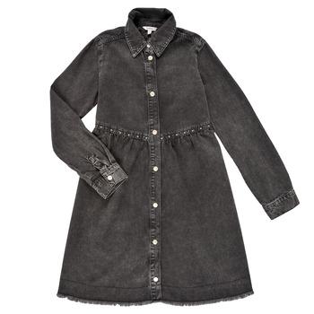 Υφασμάτινα Κορίτσι Κοντά Φορέματα Pepe jeans FLORIDA DRESS Black