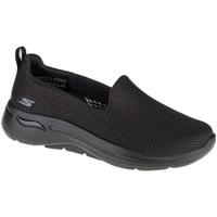 Παπούτσια Γυναίκα Slip on Skechers Go Walk Arch Fit Grateful Noir