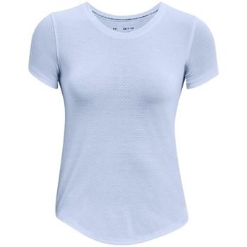 Υφασμάτινα Γυναίκα T-shirt με κοντά μανίκια Under Armour Streaker Run Short Sleeve Bleu