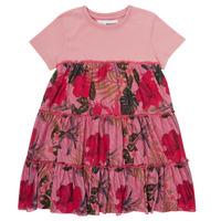 Υφασμάτινα Κορίτσι Κοντά Φορέματα Desigual ZAFIRO Ροζ