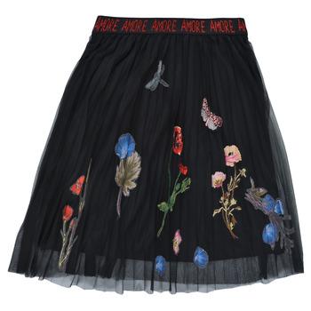 Υφασμάτινα Κορίτσι Φούστες Desigual ANDREA Black