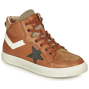 Παπούτσια Αγόρι Ψηλά Sneakers Bisgaard ISAK Cognac