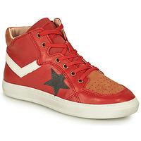 Παπούτσια Αγόρι Ψηλά Sneakers Bisgaard ISAK Red