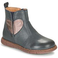 Παπούτσια Κορίτσι Μπότες Bisgaard MAGGIE Marine / Silver