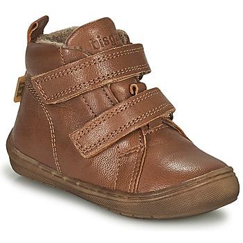 Παπούτσια Αγόρι Ψηλά Sneakers Bisgaard DEE Cognac