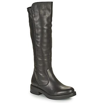 Παπούτσια Γυναίκα Μπότες για την πόλη Café Noir NUBILA Black