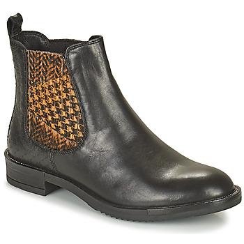 Παπούτσια Γυναίκα Μπότες Café Noir FRETINA Black