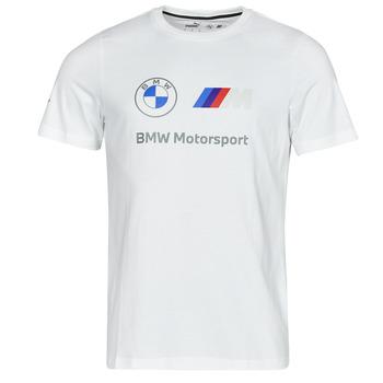 Υφασμάτινα Άνδρας T-shirt με κοντά μανίκια Puma BMW MMS ESS LOGO TEE Άσπρο
