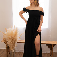 Υφασμάτινα Γυναίκα Μακριά Φορέματα Céleste PATCHOULI Black