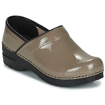 Παπούτσια Γυναίκα Σαμπό Sanita PROF Taupe