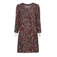 Υφασμάτινα Γυναίκα Κοντά Φορέματα One Step FT30121 Red / Multicolour