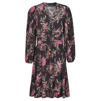 Υφασμάτινα Γυναίκα Κοντά Φορέματα One Step FT30101 Black / Multicolour