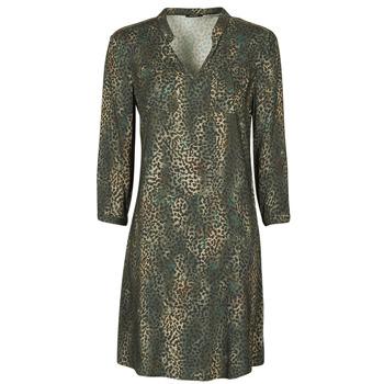 Υφασμάτινα Γυναίκα Κοντά Φορέματα One Step FT30011 Kaki