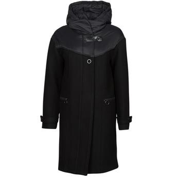 Υφασμάτινα Γυναίκα Παλτό One Step FT44041 Black