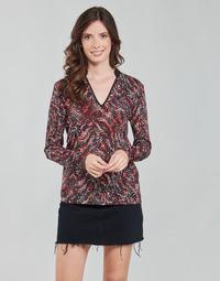 Υφασμάτινα Γυναίκα Μπλούζες One Step FT10191 Red / Multicolour