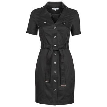 Υφασμάτινα Γυναίκα Κοντά Φορέματα Morgan RVANYA Black