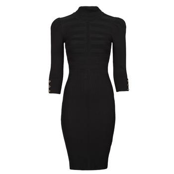 Υφασμάτινα Γυναίκα Κοντά Φορέματα Morgan RMTO Black