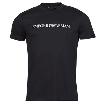 Υφασμάτινα Άνδρας T-shirt με κοντά μανίκια Emporio Armani 8N1TN5 Black