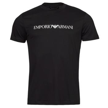 Υφασμάτινα Άνδρας T-shirt με κοντά μανίκια Emporio Armani 8N1TN5 Marine