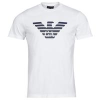 Υφασμάτινα Άνδρας T-shirt με κοντά μανίκια Emporio Armani 8N1TN5 Άσπρο