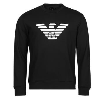 Υφασμάτινα Άνδρας Φούτερ Emporio Armani 8N1MR6 Black