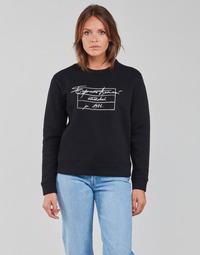 Υφασμάτινα Γυναίκα Φούτερ Emporio Armani 6K2M7R Black