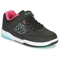 Παπούτσια Κορίτσι Χαμηλά Sneakers Kappa KASH LOW EV Black / Μπλέ / Ροζ