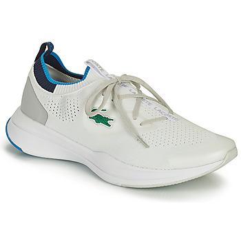 Παπούτσια Άνδρας Χαμηλά Sneakers Lacoste RUN SPIN KNIT 0121 1 SMA Άσπρο / Μπλέ