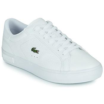 Παπούτσια Γυναίκα Χαμηλά Sneakers Lacoste POWERCOURT 0721 2 SFA Άσπρο