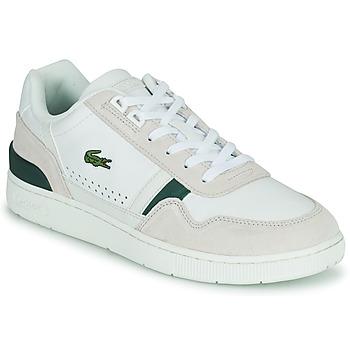 Παπούτσια Άνδρας Χαμηλά Sneakers Lacoste T-CLIP 0120 3 SMA Άσπρο / Beige