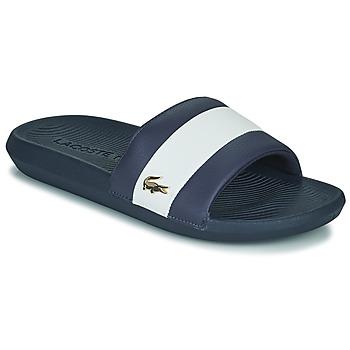 Παπούτσια Άνδρας σαγιονάρες Lacoste CROCO SLIDE 120 3 US CMA Μπλέ / Άσπρο