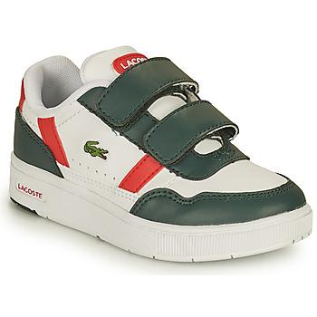 Παπούτσια Παιδί Χαμηλά Sneakers Lacoste T-CLIP 0121 2 SUI Άσπρο / Green / Red