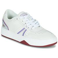 Παπούτσια Γυναίκα Χαμηλά Sneakers Lacoste L001 0321 1 SFA Άσπρο / Violet