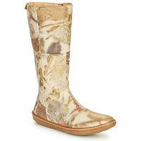 Παπούτσια Γυναίκα Μπότες για την πόλη El Naturalista CORAL Grey