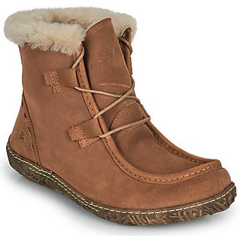 Παπούτσια Γυναίκα Μπότες El Naturalista NIDO ELLA Brown