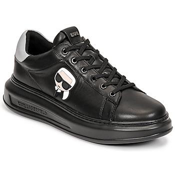 Παπούτσια Άνδρας Χαμηλά Sneakers Karl Lagerfeld KAPRI MENS KARL IKONIC 3D LACE Black