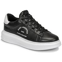Παπούτσια Άνδρας Χαμηλά Sneakers Karl Lagerfeld KAPRI MENS MAISON KARL LACE Black