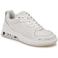 Παπούτσια Γυναίκα Χαμηλά Sneakers Karl Lagerfeld ELEKTRA LAY UP LO Άσπρο