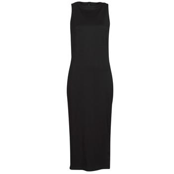 Υφασμάτινα Γυναίκα Κοντά Φορέματα Karl Lagerfeld KITTED WRAP DRESS Black