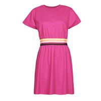 Υφασμάτινα Γυναίκα Κοντά Φορέματα Karl Lagerfeld LOGO TAPE JERSEY DRESS Ροζ